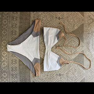 L* Space reversible swim suit
